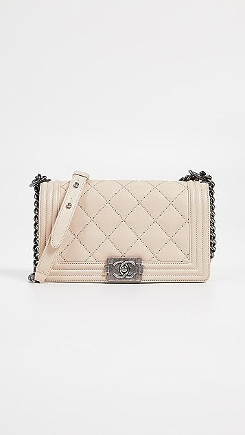 30f58e3f64bdea What Goes Around Comes Around Chanel Boy Medium Bag | SHOPBOP