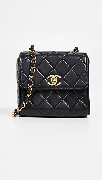 What Goes Around Comes Around Chanel Lambskin Small Shoulder Bag
