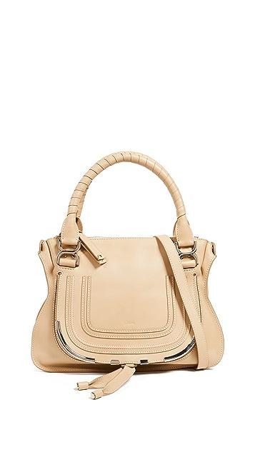 What Goes Around Comes Around Кожаная сумка-портфель Marcie от Chloe