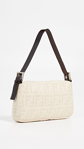 What Goes Around Comes Around Fendi  Zucca Baguette Bag