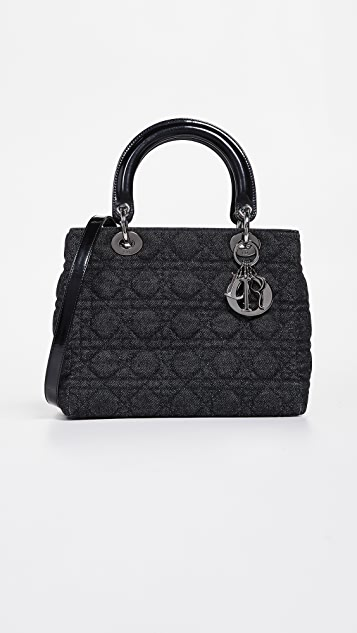 What Goes Around Comes Around Dior Medium Lady Dior Bag  854460c20e571