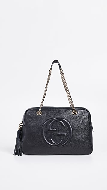 0a0eb1d5607 What Goes Around Comes Around Gucci Soho Medium Chain Bag