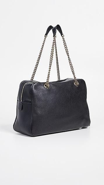 b92ec3e382e ... What Goes Around Comes Around Gucci Soho Medium Chain Bag ...