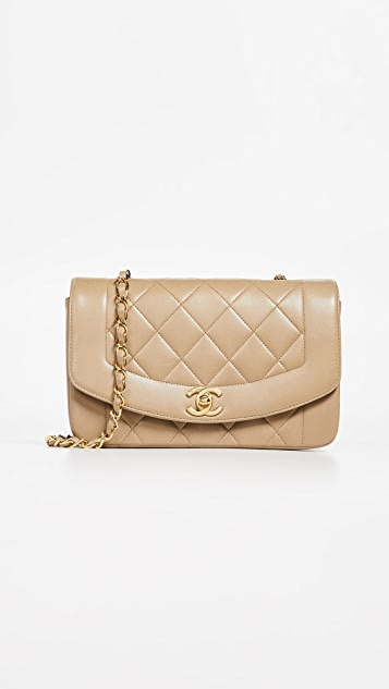 07bb270529a Source · What Goes Around Comes Around Chanel Lambskin Classic Flap Bag  SHOPBOP