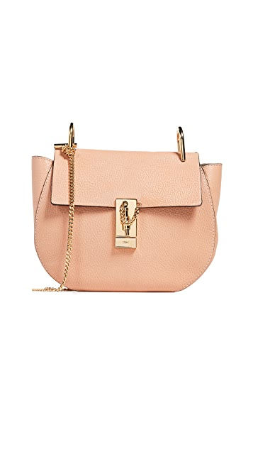 What Goes Around Comes Around Chloe Pink Leather Drew Bag