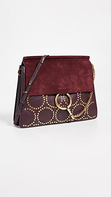 What Goes Around Comes Around Chloe Stud Medium Faye Bag
