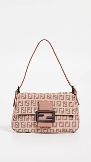 b3e69a85ebd Fendi Zucchino Mini Mama Bag