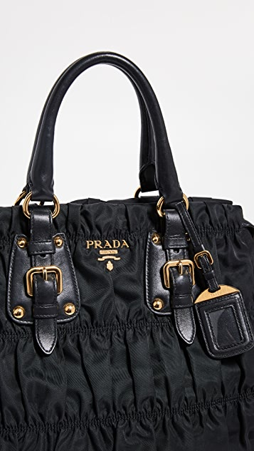c7a641c08fa5 ... What Goes Around Comes Around Prada Tessuto Gaufre Bag ...