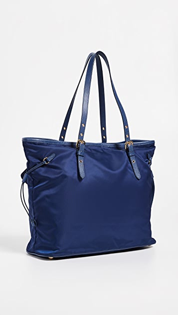 What Goes Around Comes Around Prada Nylon Tote Bag