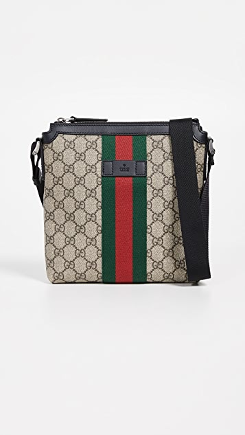 What Goes Around Comes Around Сумка-портфель Web от Gucci