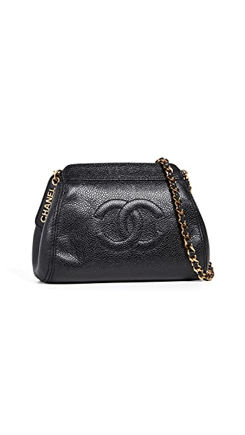 What Goes Around Comes Around Chanel Caviar Mini Shoulder Bag