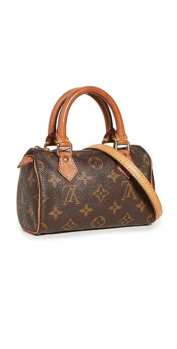 What Goes Around Comes Around Louis Vuitton Mini HL Speedy bag - Brown