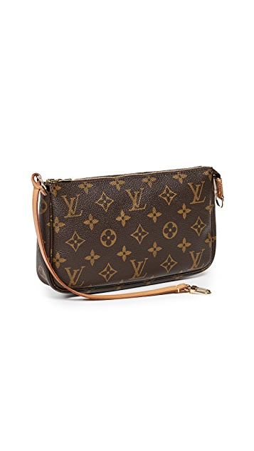 What Goes Around Comes Around Однотонная сумочка Louis Vuitton