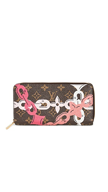 What Goes Around Comes Around Louis Vuitton Monogram Bay Zippy Bag