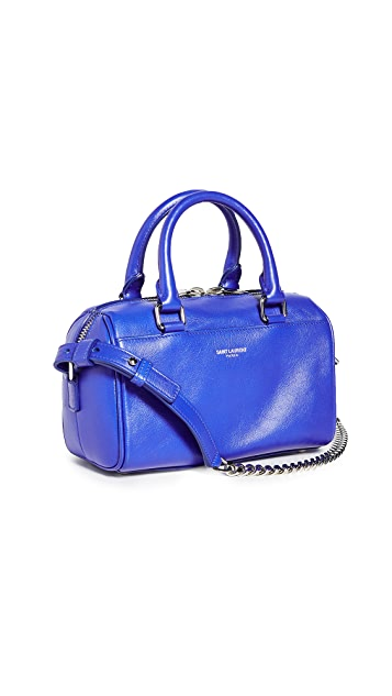 What Goes Around Comes Around YSL Blue Toy Duffle Bag