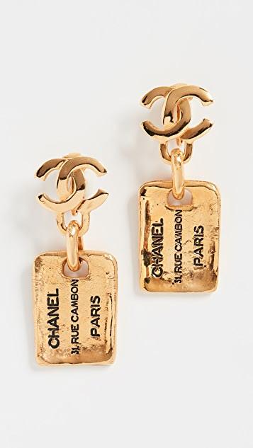 What Goes Around Comes Around Chanel Rue Cambon Earrings