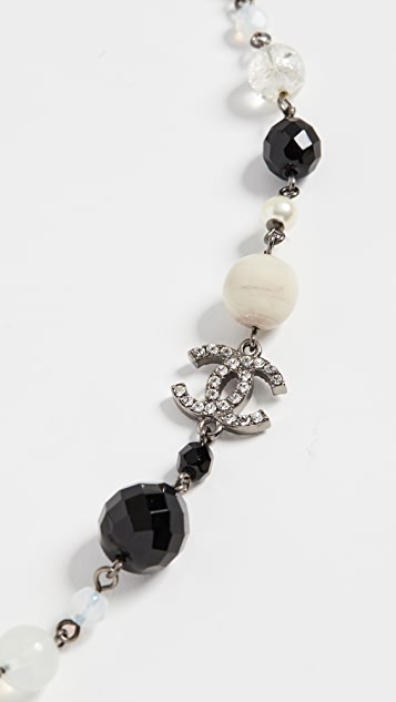 What Goes Around Comes Around Chanel Multi Imitation Pearl Necklace