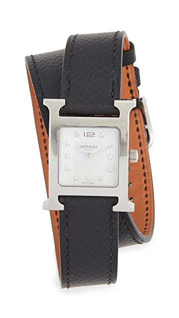 What Goes Around Comes Around Hermes Hour Watch