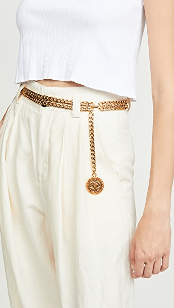 What Goes Around Comes Around Chanel Chain Belt