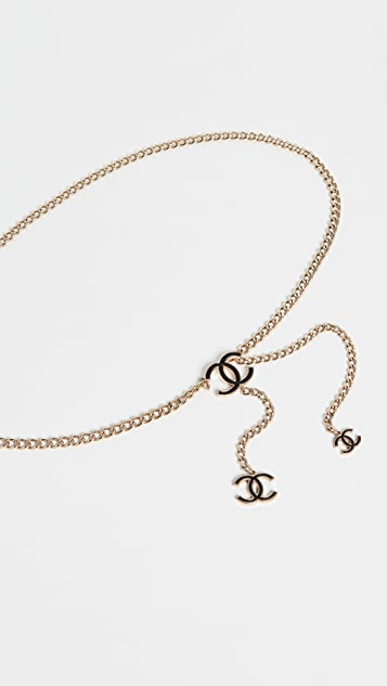 What Goes Around Comes Around Chanel CC Chain belt