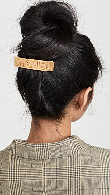 What Goes Around Comes Around Chanel Hair Clip