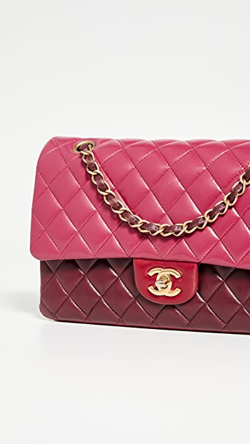 "Chanel Multi 10"" Flap Shoulder Bag by What Goes Around Comes Around"