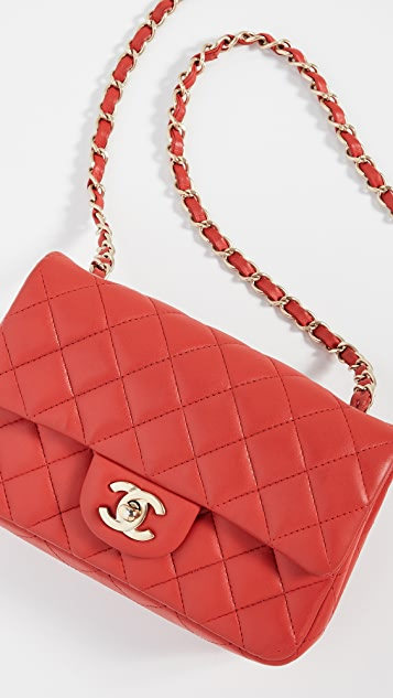 What Goes Around Comes Around Chanel Half Flap Small Shoulder Bag