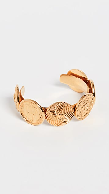 What Goes Around Comes Around Chanel Multi Coin Cuff