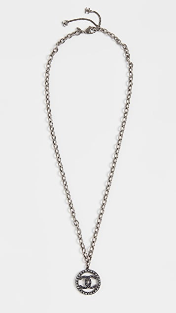 What Goes Around Comes Around Chanel Metal CC Necklace