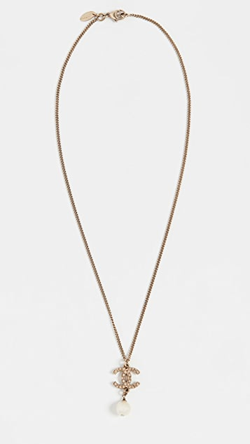 What Goes Around Comes Around Chanel CC Dangle Necklace