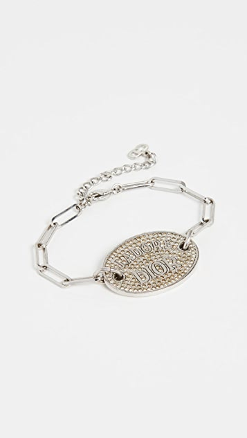 What Goes Around Comes Around Dior Silver Bracelet