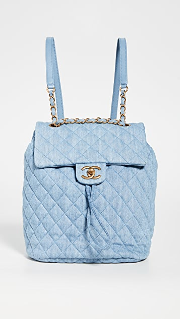 What Goes Around Comes Around Chanel Denim Medium Backpack