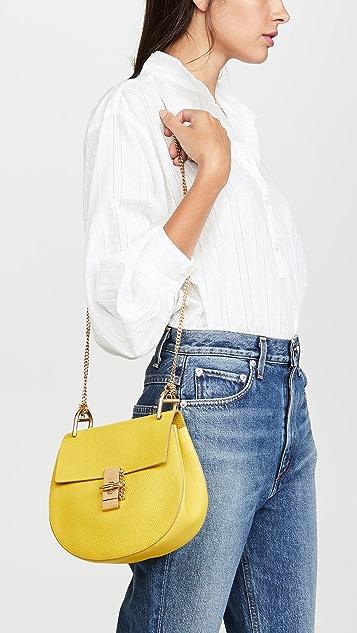 What Goes Around Comes Around Chloe Yellow Medium Drew Bag
