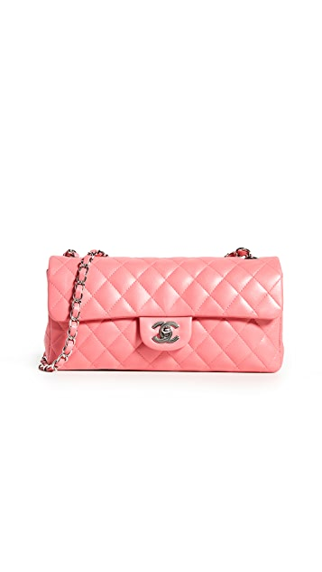 What Goes Around Comes Around Chanel Pink Lamb East West