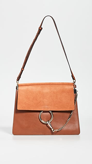 7fbdf2a8 Chloe Faye Medium Flap Shoulder Bag