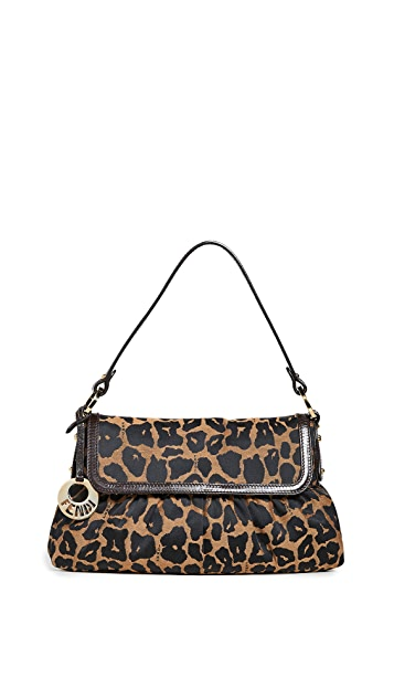 What Goes Around Comes Around Fendi Brown Leopard Chef Small