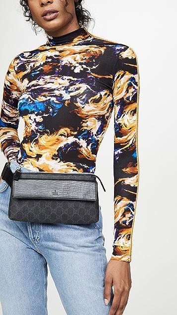 What Goes Around Comes Around Gucci Black Waist Pouch