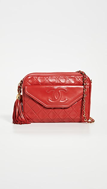 What Goes Around Comes Around Chanel 红色口袋相机包