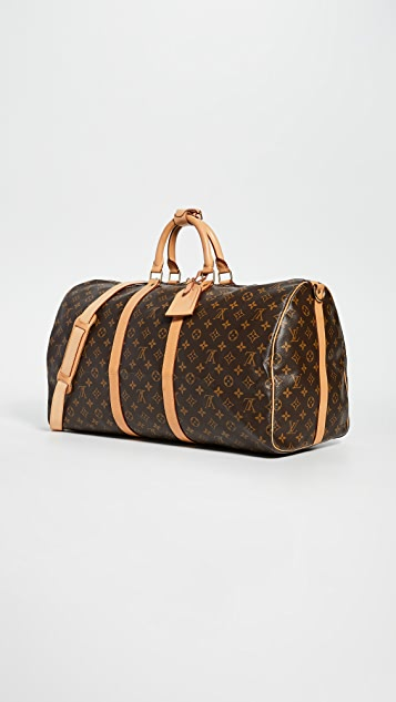What Goes Around Comes Around Louis Vuitton Keep All Bandouliere Bag