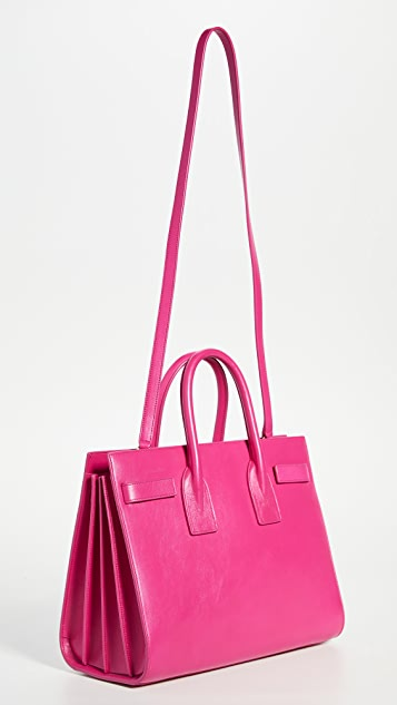 What Goes Around Comes Around YSL Pink Calf Sacdejour Small