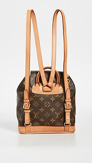 What Goes Around Comes Around LV Monogram Montsouris Backpack