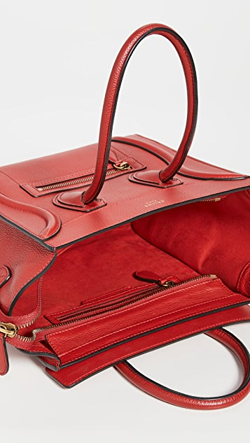 What Goes Around Comes Around Celine Red Luggage 微型包