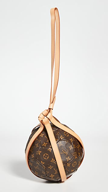 What Goes Around Comes Around LV Monogram Soccer Ball