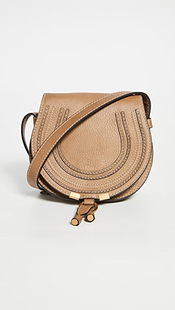 What Goes Around Comes Around Chloe Brown Leather Marcie Shoulder Bag