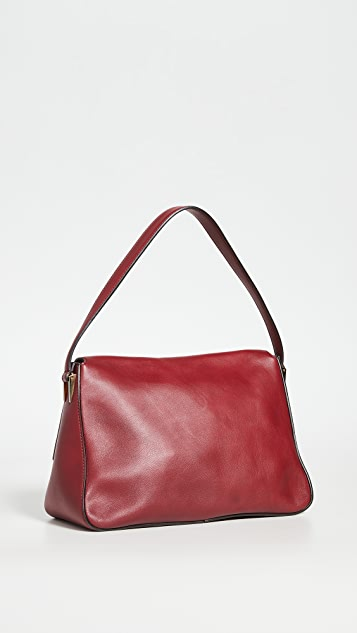 What Goes Around Comes Around Fendi Burgundy Leather Forever Mama