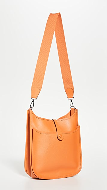 What Goes Around Comes Around Hermes Orange Evelyn 包