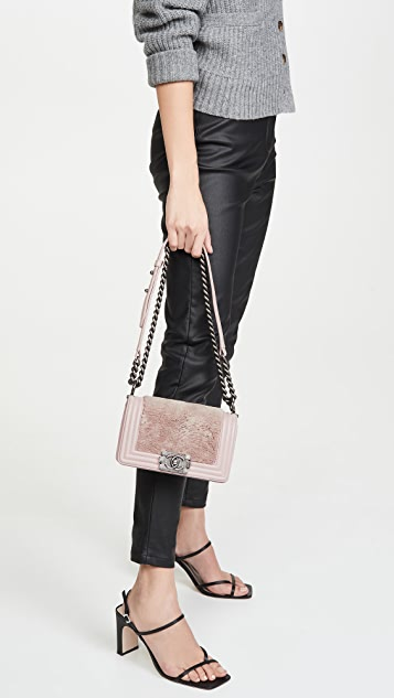 What Goes Around Comes Around Chanel Lady Lapin Boy Small Bag