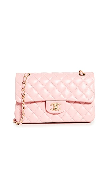 What Goes Around Comes Around Chanel Pink Lambskin Bag