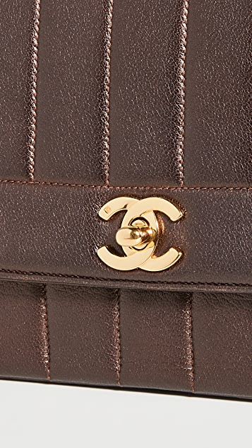 What Goes Around Comes Around Chanel Brown Flap Bag