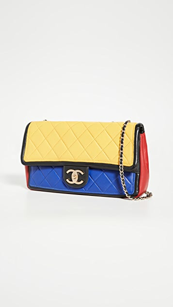What Goes Around Comes Around Chanel Multi Lamb Flap